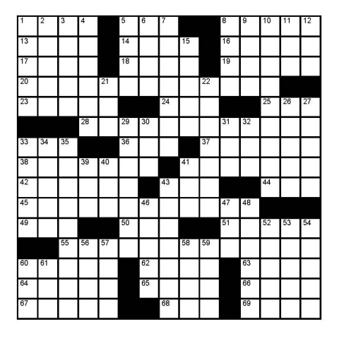 This is an image of Sheffer Crossword Printable within printable file